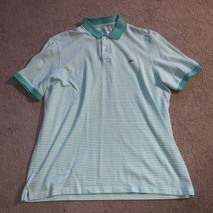 Vineyard Vines men's XL green polo shirt
